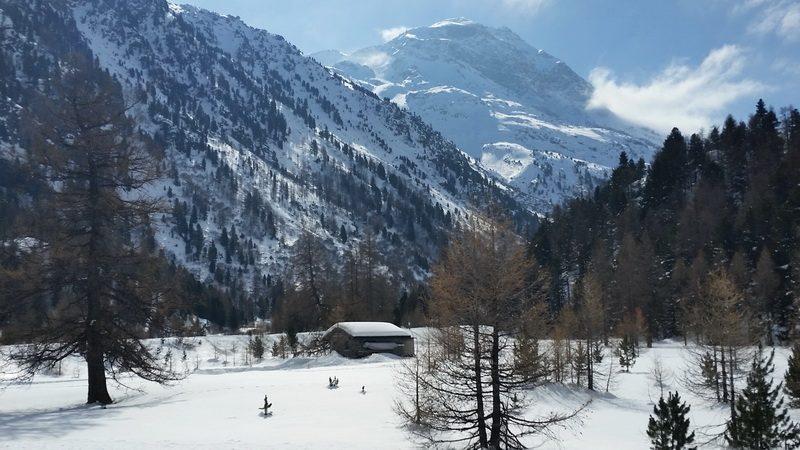 Swiss Valley landscape