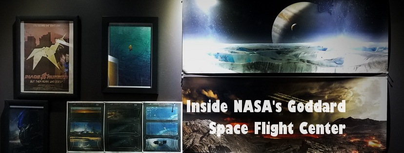 Illustrations inside NASA's Goddard Space Flight Center