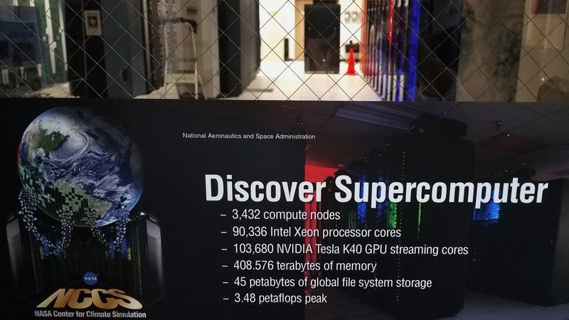 A glimpse of the Goddard Supercomputer