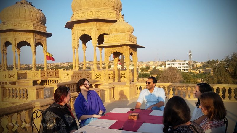 Meeting the Prince of Jaisalmer