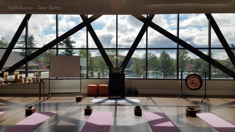 Yoga room at Yog1