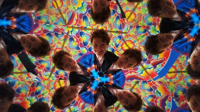 A moment insdie the world's biggest kaleidoscope.