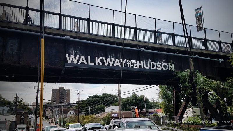 The street portion of the Poughkeepsie Walkway over the Hudson