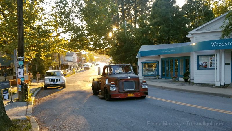 A scenic ride on the Woodstock village mainstreet