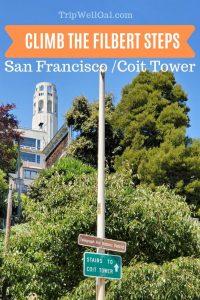 San Francisco Filbert Steps Pin 1