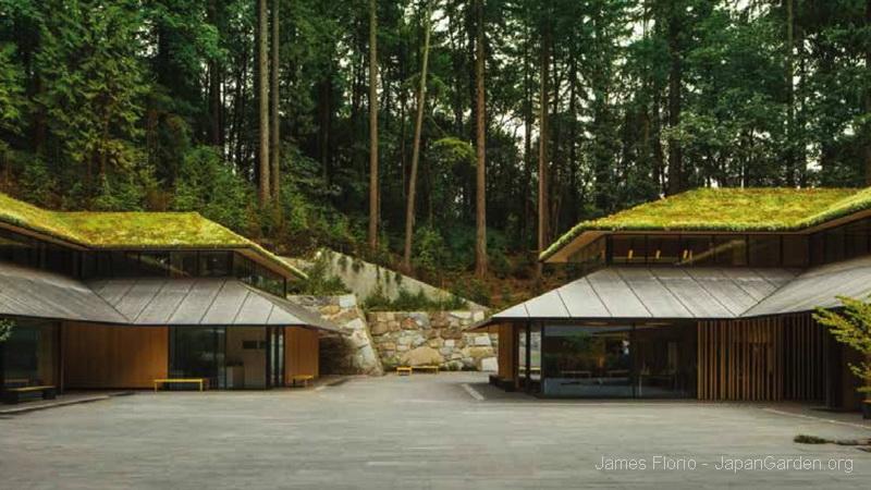The Castle Wall Portland Oregon Japanese Garden