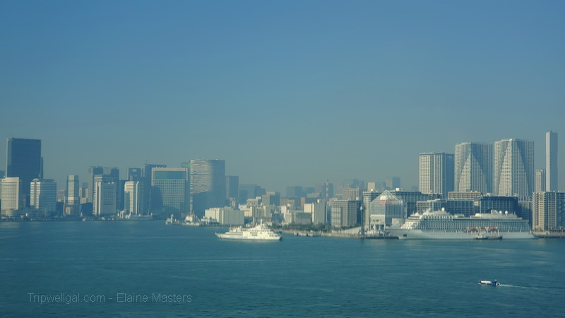 Tokyo Bay view from bridge
