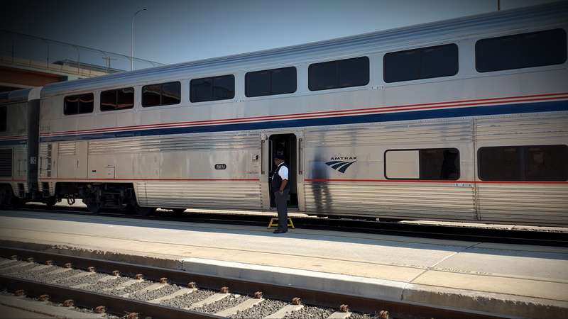 Amtrak Southwest Chieftain in Albuquerque