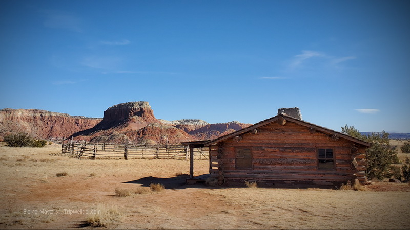 Revered Orphan Mesa above the cabin built for the movie, City Slickers